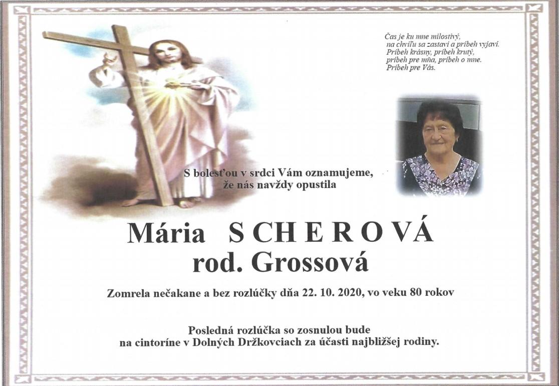 Mária Scherová